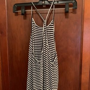 Old Navy Tops - Black and white striped tank